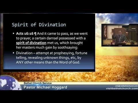 Spirit of Divination – pastormikehoggard