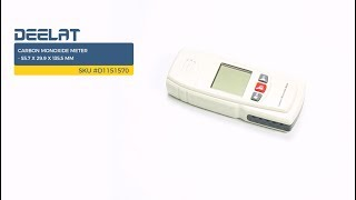 Carbon Monoxide Meter - 55.7 x 29.9 x 135.5 mm     SKU #D1151570