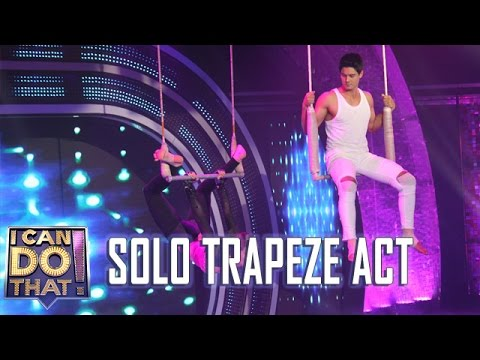I Can Do That!: Cristine and Daniel   Solo Trapeze Act