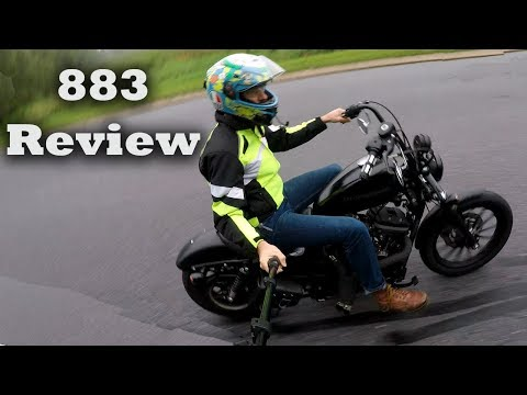 Why everyone Hates Sportsters(883 Test Drive)