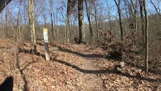 Ozark Foothills 25k trail race