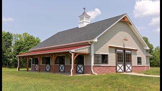 Horse Barn & Living Quarters In Pittstown NJ
