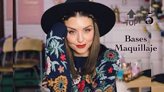 Top 5 Bases De Maquillaje | Dirty Closet