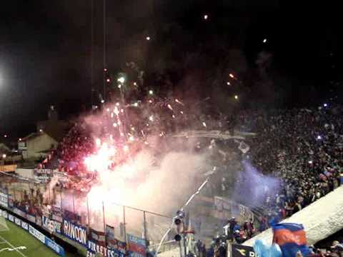 """TIGRE - San Lorenzo Copa Sudamericana 2009"" Barra: La Barra Del Matador • Club: Tigre"