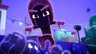 PJ Masks Full Episodes   Naughty Ninjalinos 🎉⚡️1 HOUR   HD 4K   PJ Masks Official