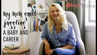 My Mom Guilt of Juggling A Baby and Career | Struggles of a Momtrepreneur