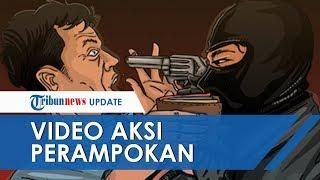 Perampokan Toko Emas di Grobogan Terekam CCTV, Hanya 5 Menit Pelaku Gasak 10 Kg Emas Senilai Rp4,5 M