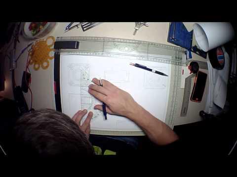 Technische Zeichnung (Timelapse)