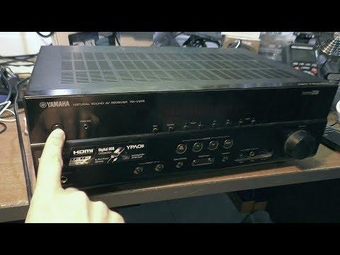 Не включается AV-ресивер YAMAHA RX-V375