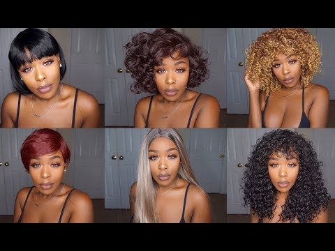6 Wigs 6 Looks UNDER $25! Hit or Miss 👍🏾👎🏾 ft. Dresslily.com