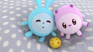 Малышарики - Раскраска для детей - Мячик