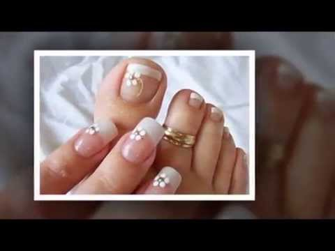 Modelos de unhas para pés