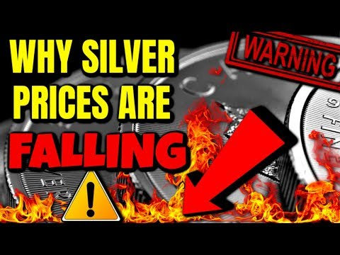 This is why Silver Prices are FALLING..