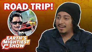 "Tony Revolori talks ""Spider-Man: Far From Home"" and Marvel Road Trips | Earth's Mightiest Show Bonus"