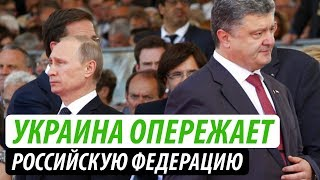 Украина опережает Россию