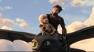 How To Train Your Dragon 3 : Hiccup And Astrid Get Married | Hiccup & Toothless Flying Scene
