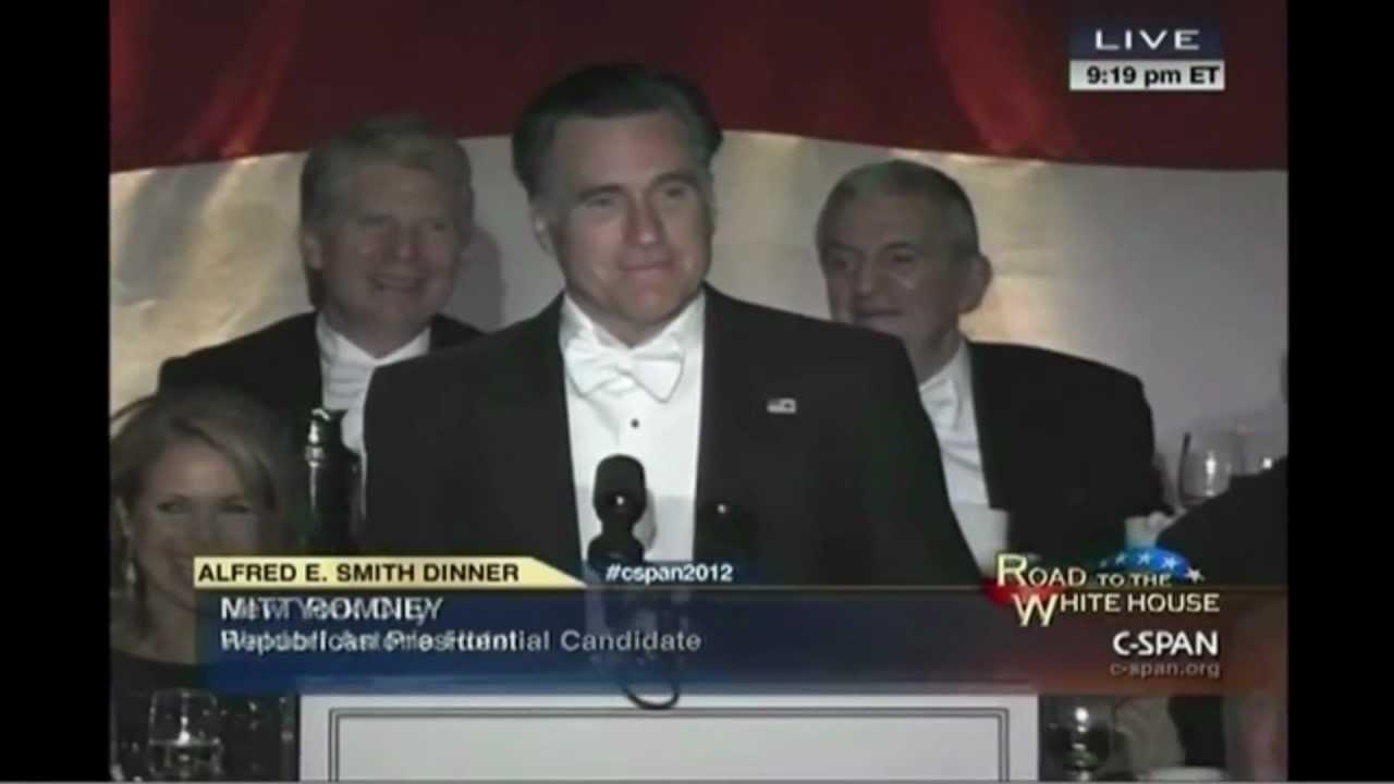 Romney Joke Analysis From Alfred E. Smith Dinner thumbnail