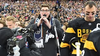 Jordan Smith sings U.S. National Anthem at 2016 Winter Classic