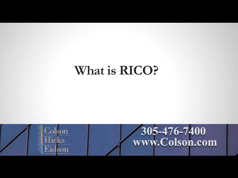 What Is RICO?