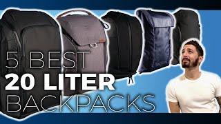 5 Best 20 Liter Backpacks [2021 Guide]