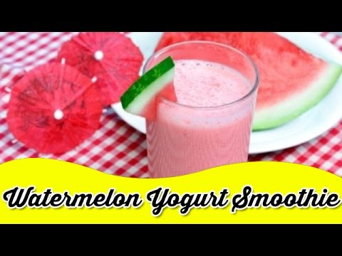 Video Watermelon Yogurt Smoothie Recipe | Summer Smoothies