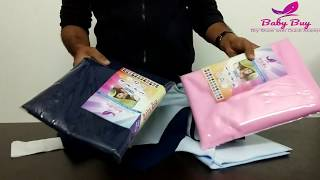 """How to use Drysheet/ Urine sheet/ Mattress protector ? """"Baby Buy"""" Dry Sheet for Baby"""