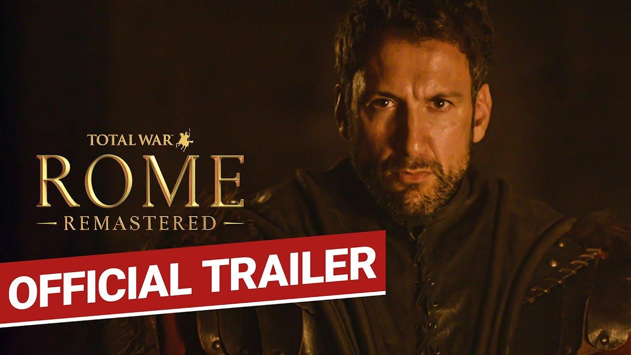 Trailer di Total War: Rome Remastered