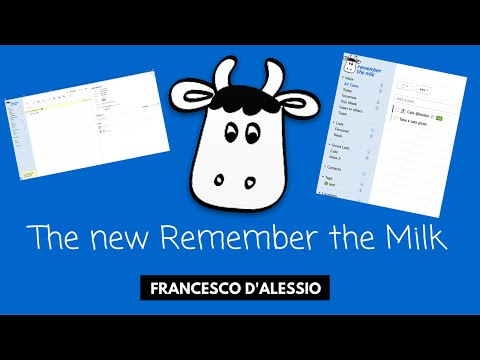 Screenshot of video: Remember the milk