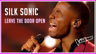Silk Sonic - Leave The Door Open (Jérémie) | INCREDIBLE Touching Singer WOWS on The VOICE 2021!