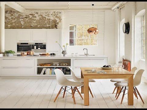 Зачарованная Кухня в Скандинавском Стиле