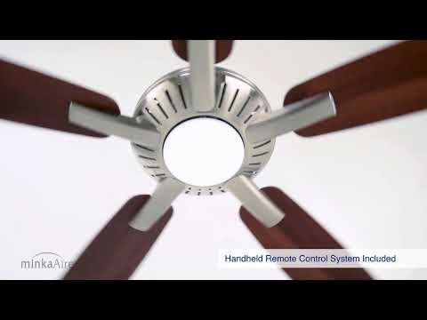 Video for Dyno White LED 52-Inch Ceiling Fan