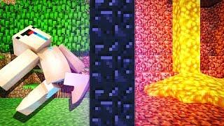 ПОРТАЛ В АД — Учим Нуба Играть В Майнкрафт #14