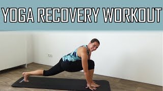 20 Minute Recovery Yoga Workout – Stretching Exercises For Flexibility and Recovery by FitnessType