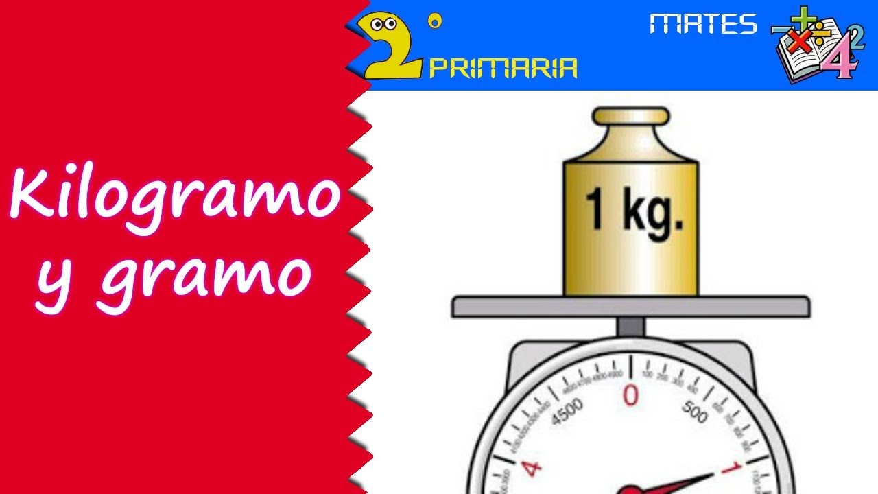 Matemáticas. 2º Primaria. Tema 3. El kilogramo y el gramo