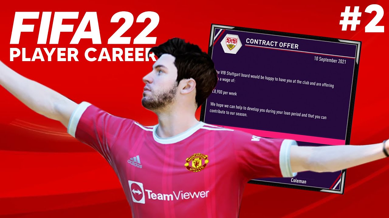 FIFA 22 Gamer Profession Mode Part 2 - LOAN RELOCATION/ FIRST PREMIER OBJECTIVE & RED CARD thumbnail