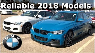 The Most Reliable 2018 BMW Models