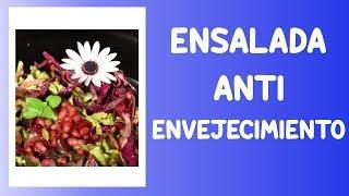 Ensalada de Frutos Rojos con Antocianinas
