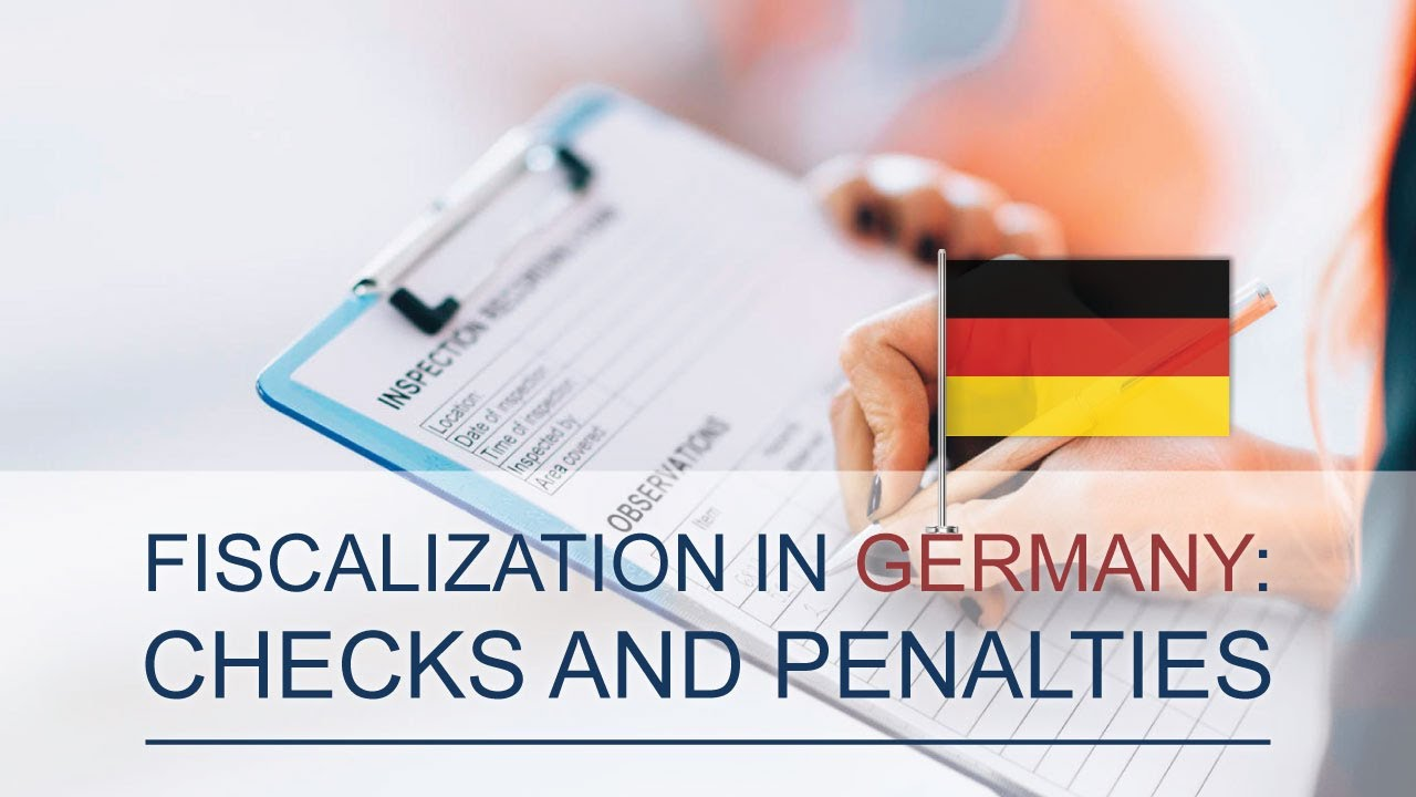 Fiscalization in Germany: Audit rules