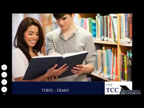 TOEFL - Detailed Demo Video