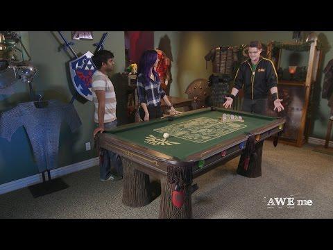Pool Table Fit for Legend of Zelda™!