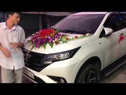 Xe hoa của Hoa tươi kim sen