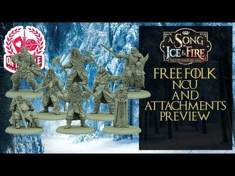 Free Folk NCU Attachments for ASOIAF TMG