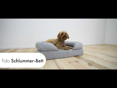 Schlummerbett | NEU Luxus Hundebett mit Memory-Schaum Matratze | Omlet Haustier Produkte