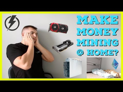 Can You Make Money Mining Cryptocurrency At Home? Residential Electric Rates Kill Profits?