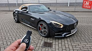 INSIDE the NEW Mercedes-AMG GT C Roadster 2017 | Interior Exterior DETAILS w/ REVS