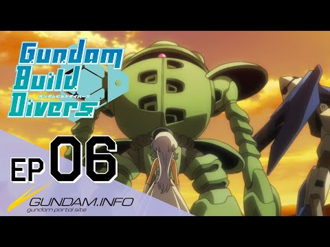 Download Gundam Build Divers-Episode 6: Past and Future(EN,TW,HK,KR,FR,IT,TH sub) HD Mp4 3GP Video and MP3