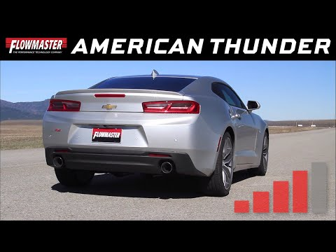 2016-19 Camaro LS, LT 3.6L - American Thunder Axle-back Exhaust System 817743