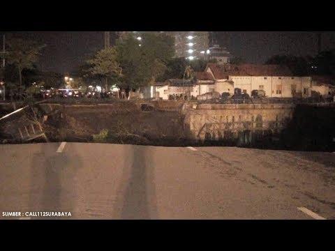 Penyebab Jalan Gubeng Ambles, Wawali Surabaya : Pengembang RS Siloam Salahi Izin Pemkot