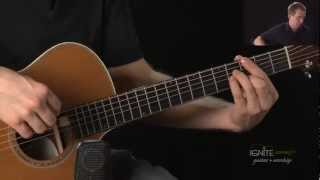 New Jazzy Chords GMaj7, CMaj7, Am7, D11 - Learn Advanced Acoustic Guitar Lesson