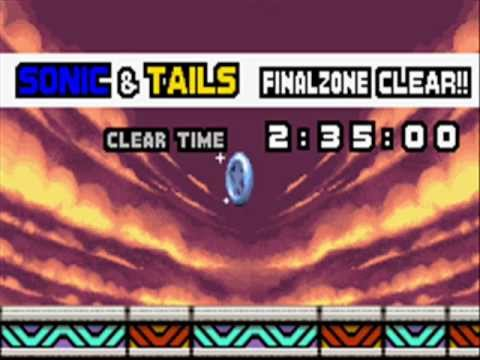 Sonic Advance 3 (GBA) - Final Boss - Nonaggression & Ending